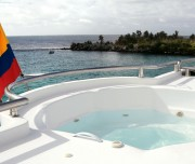 Treasure of Galapagos jacuzzi